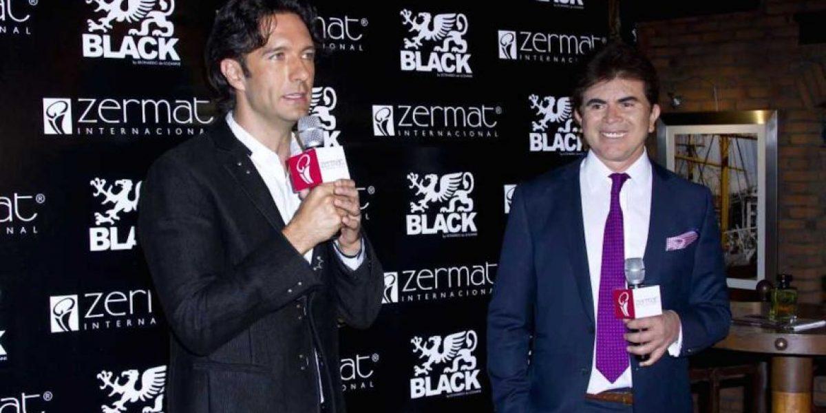 """Leonardo de Lozanne lanza su colonia """"Black"""" pensando en las mujeres"""