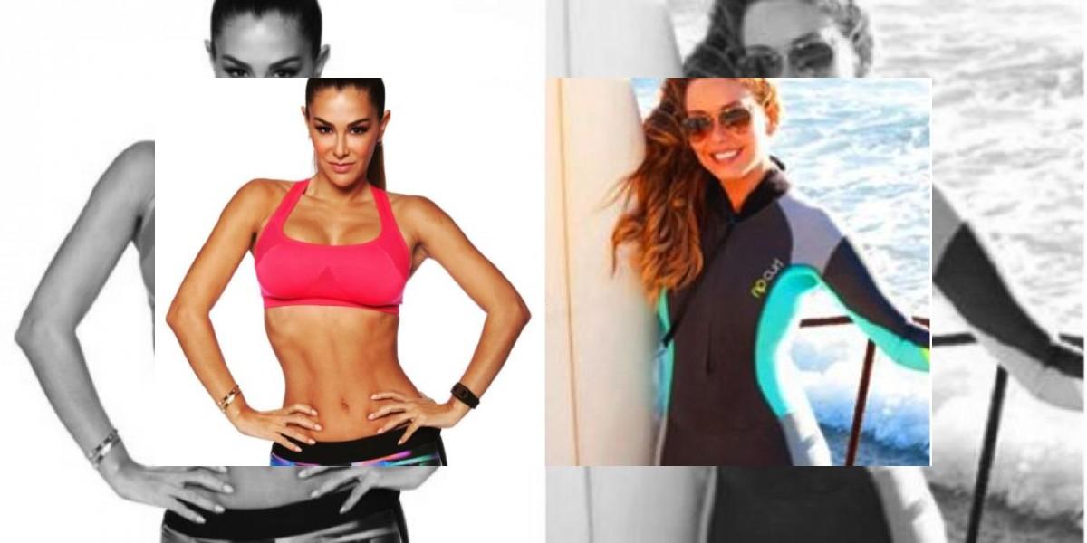 Duelo de bikinis: Ninel Conde vs Myrka Dellanos