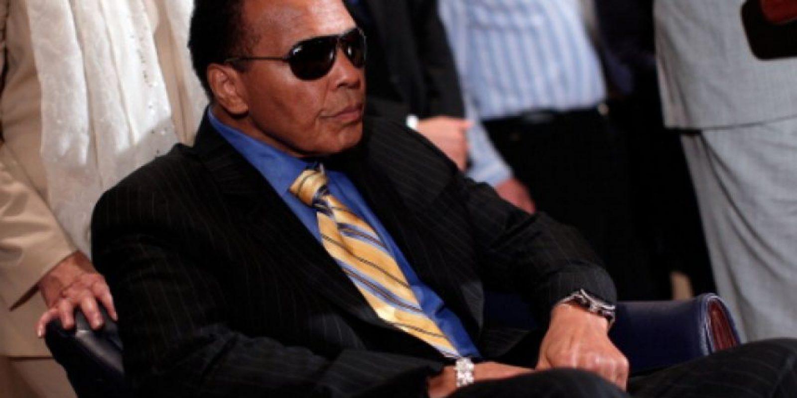 Hospitalizan de emergencia a Muhammad Ali Foto:Getty Images