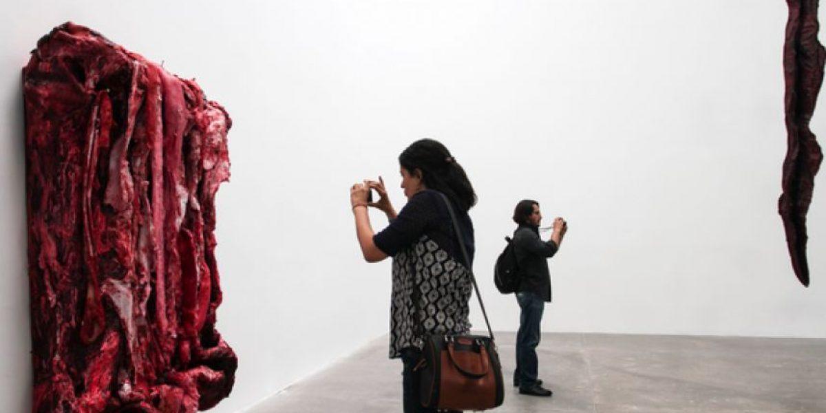 Cómo entrar más rápido a la exposición de Anish Kapoor en el MUAC