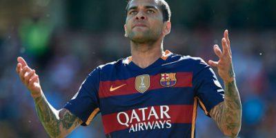 Dani Alves se va del Barcelona Foto:Getty Images