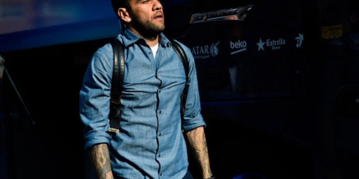 Confirma Barcelona la salida de Dani Alves