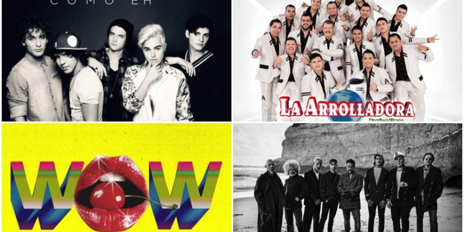 Variedad de estrenos musicales esta semana