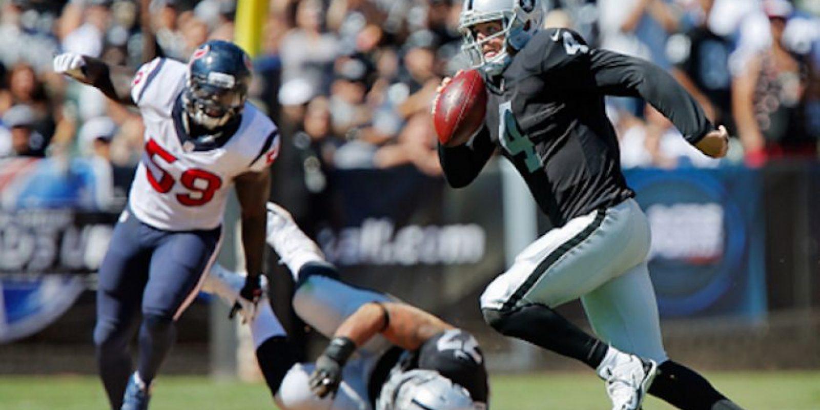 Los Texanos chocarán con los Raiders el 21 de noviembre, en el Estadio Azteca. Foto:Getty Images