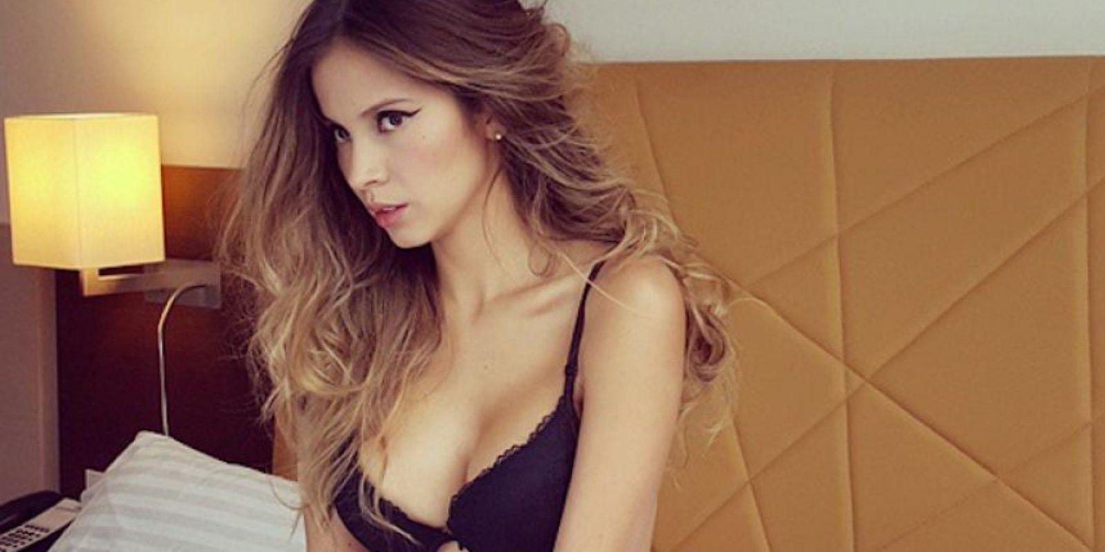 Ella es Karin Jiménez, la esposa de Santiago Arias. Foto:Instagram: @karinjimenez91