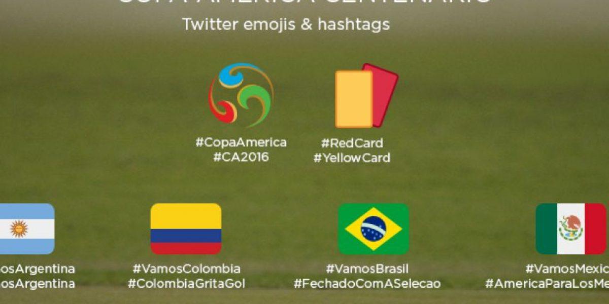 Twitter y Facebook se unen a la pasión por la Copa América Centenario