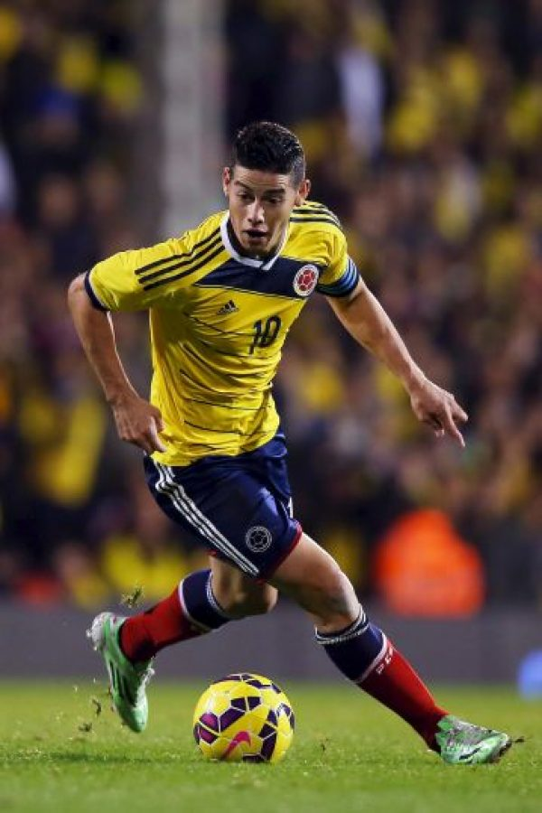 James Rodríguez (Colombia) – 70 millones de euros Foto: Getty Images