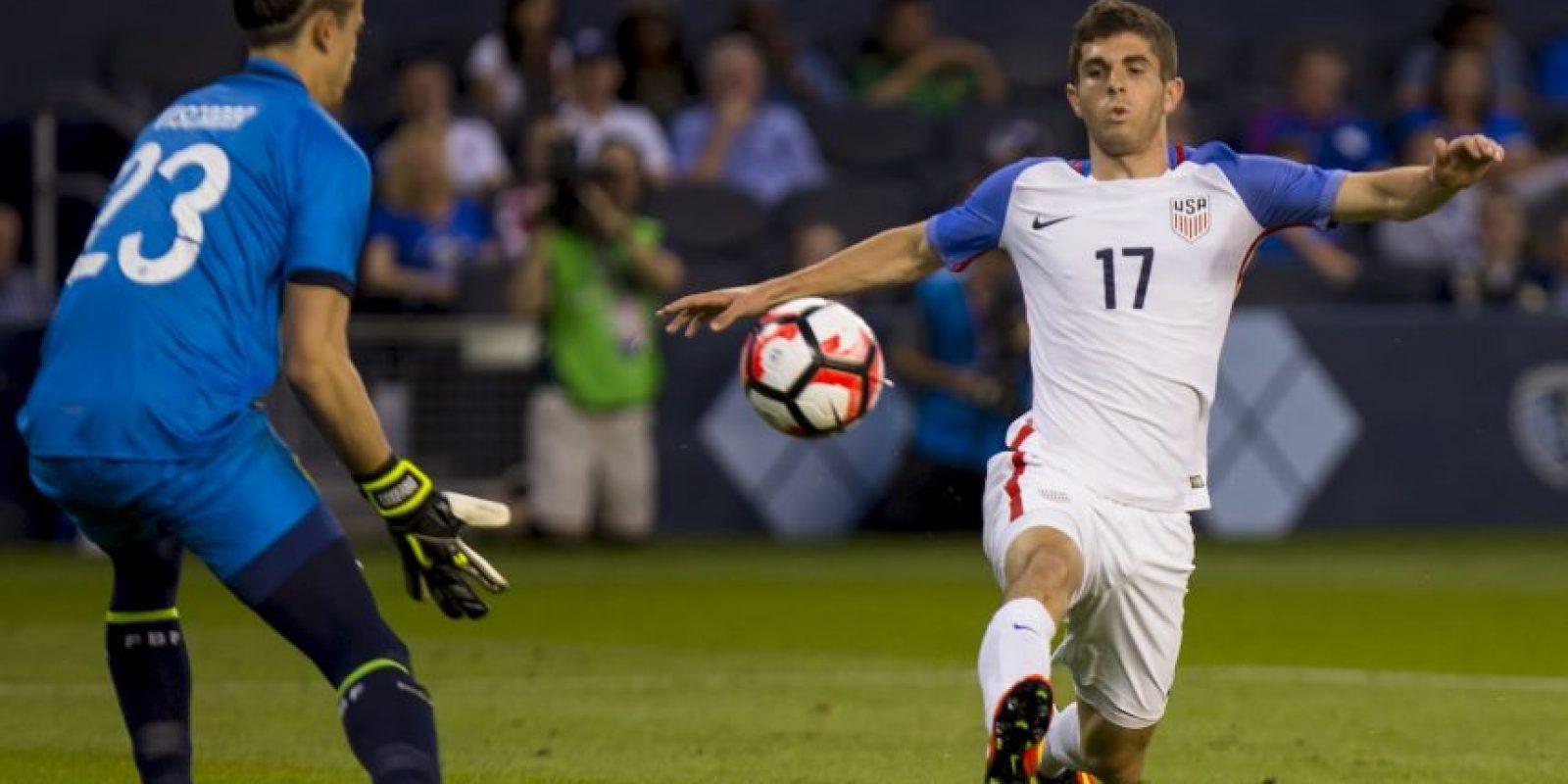 El jugador de Estados Unidos tiene sólo 17 años y vivirá la presión de ser local en el torneo de selecciones Foto:Getty Images