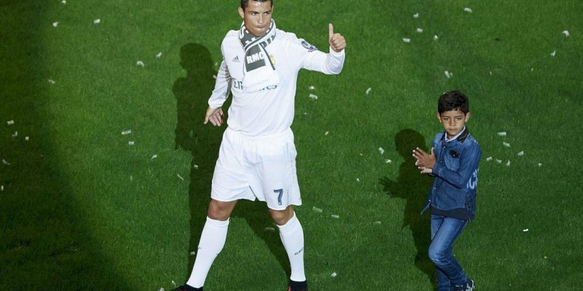 Cristiano Ronaldo donó su premio de Champions League a la caridad