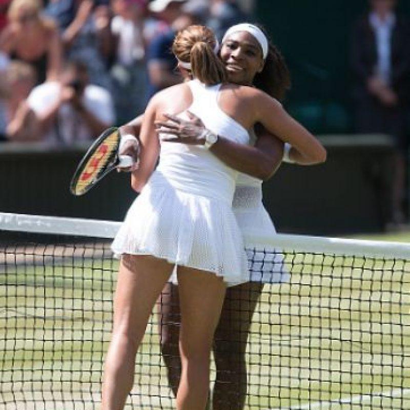 Serena Williams disputará la Final de Roland Garros ante Garbiñe Muguruza Foto:Getty Images