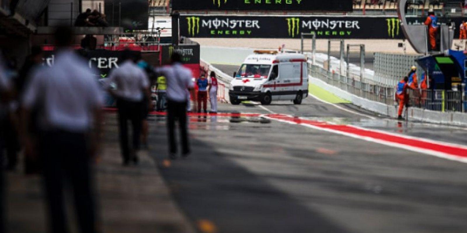 El piloto Luis Salóm perdió la vida en las pruebas del Gran Premio de España Foto:Getty Images
