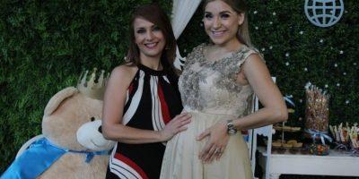Con Claudia Ovalle