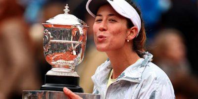La hispano-venezolana se hizo de su primer Grand Slam este sábado. Foto:Getty Images