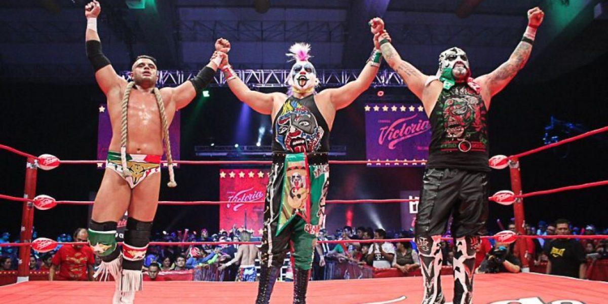 Dos equipos mexicanos van por el campeonato de Lucha Libre World Cup