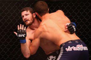 """UFC 199: Los ánimos están """"calientitos"""" entre Luke Rockhold y Michael Bisping Foto:Getty Images"""