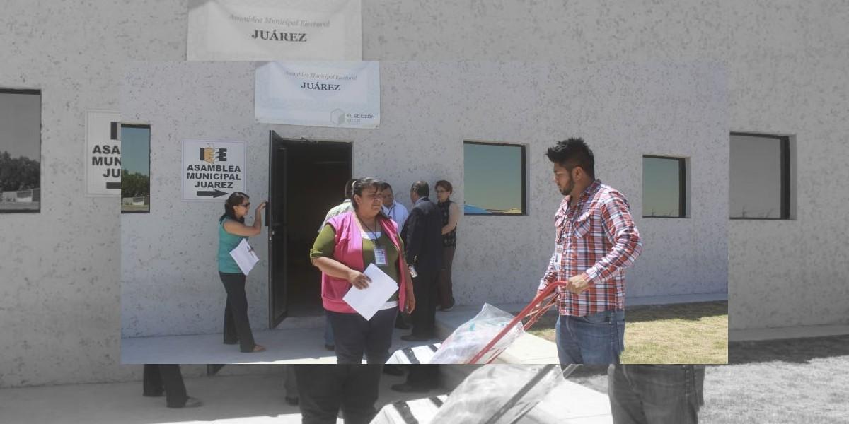 INE reubica casillas por pintas en Chihuahua
