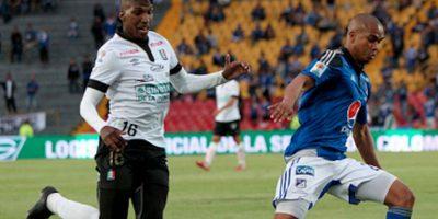 Johan Arango tiene 25 años, es delantero y juega en su natal Colombia. Foto:Getty Images