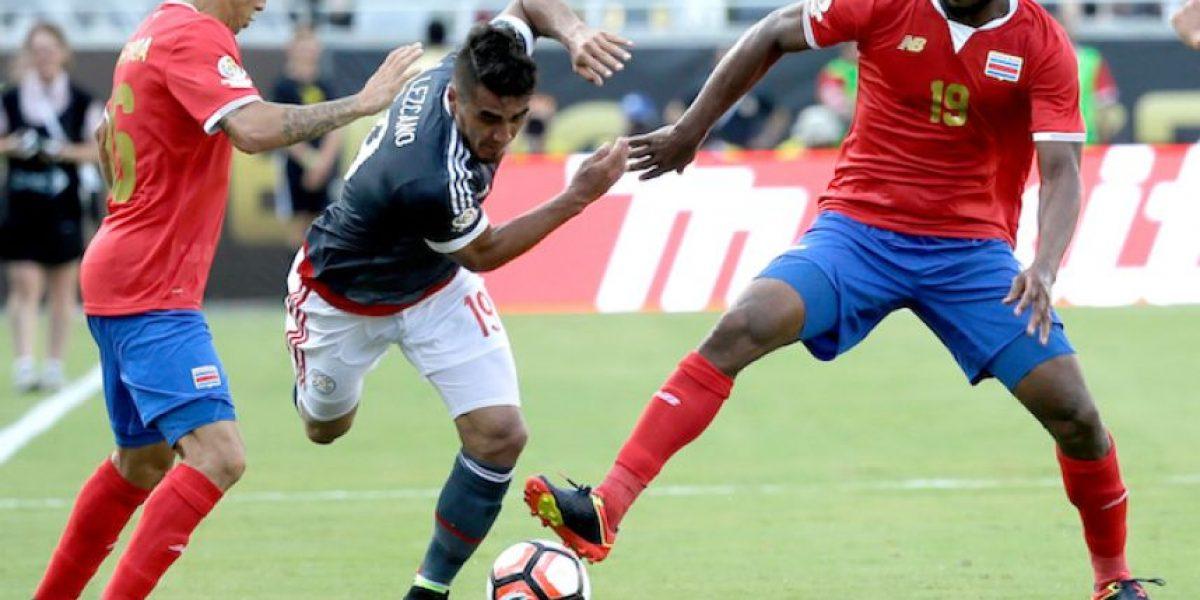 ¡Para el olvido! Costa Rica y Paraguay empatan sin goles en su debut