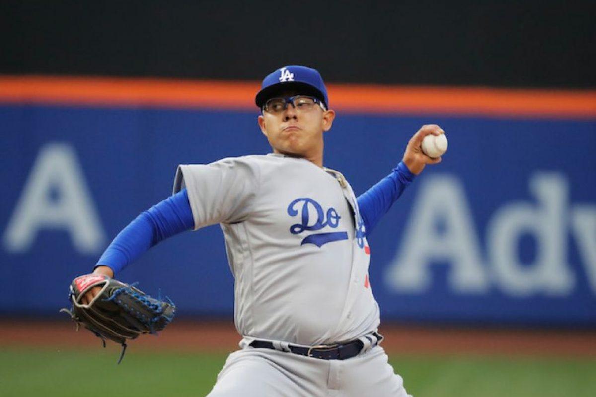 Conoce a Julio Urías, prospecto mexicano de los Dodgers de Los Ángeles Foto:Getty Images