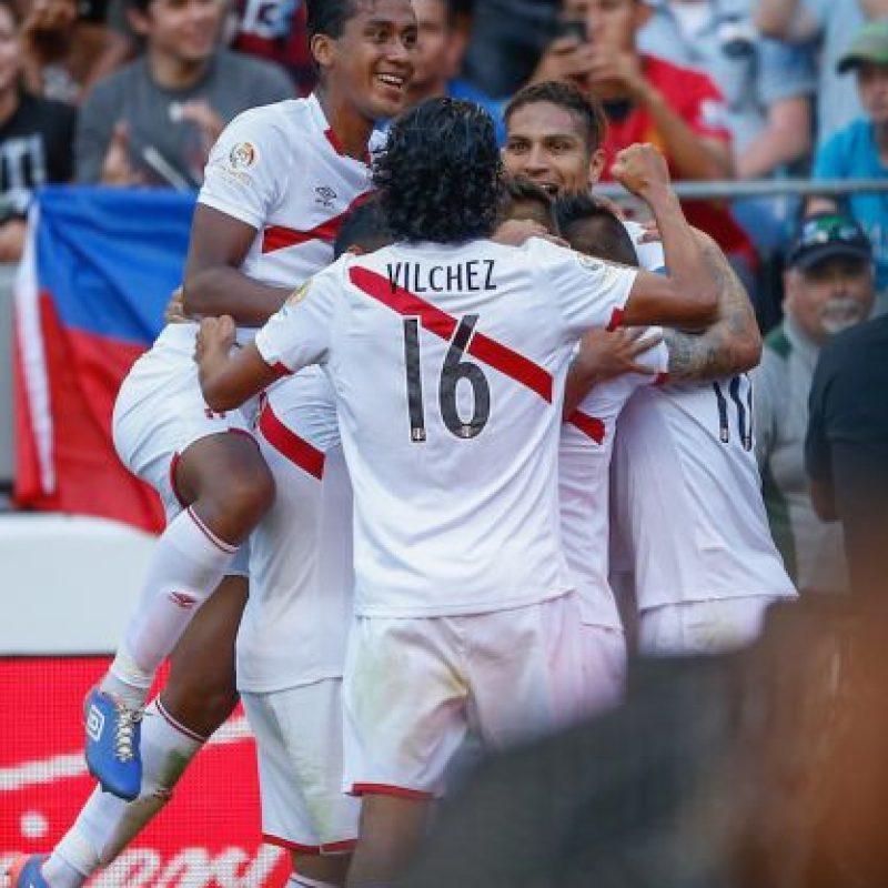 Perú vence por la mínima al duro Haití Foto:Getty Images