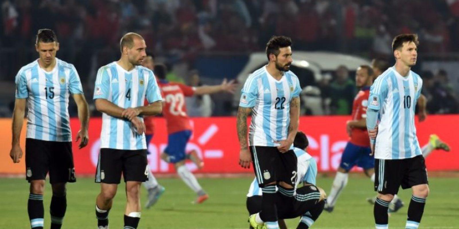 Argentina querrá cobrarse revancha de la final que le ganó Chile por penales en la Copa América 2015 Foto:Getty Images