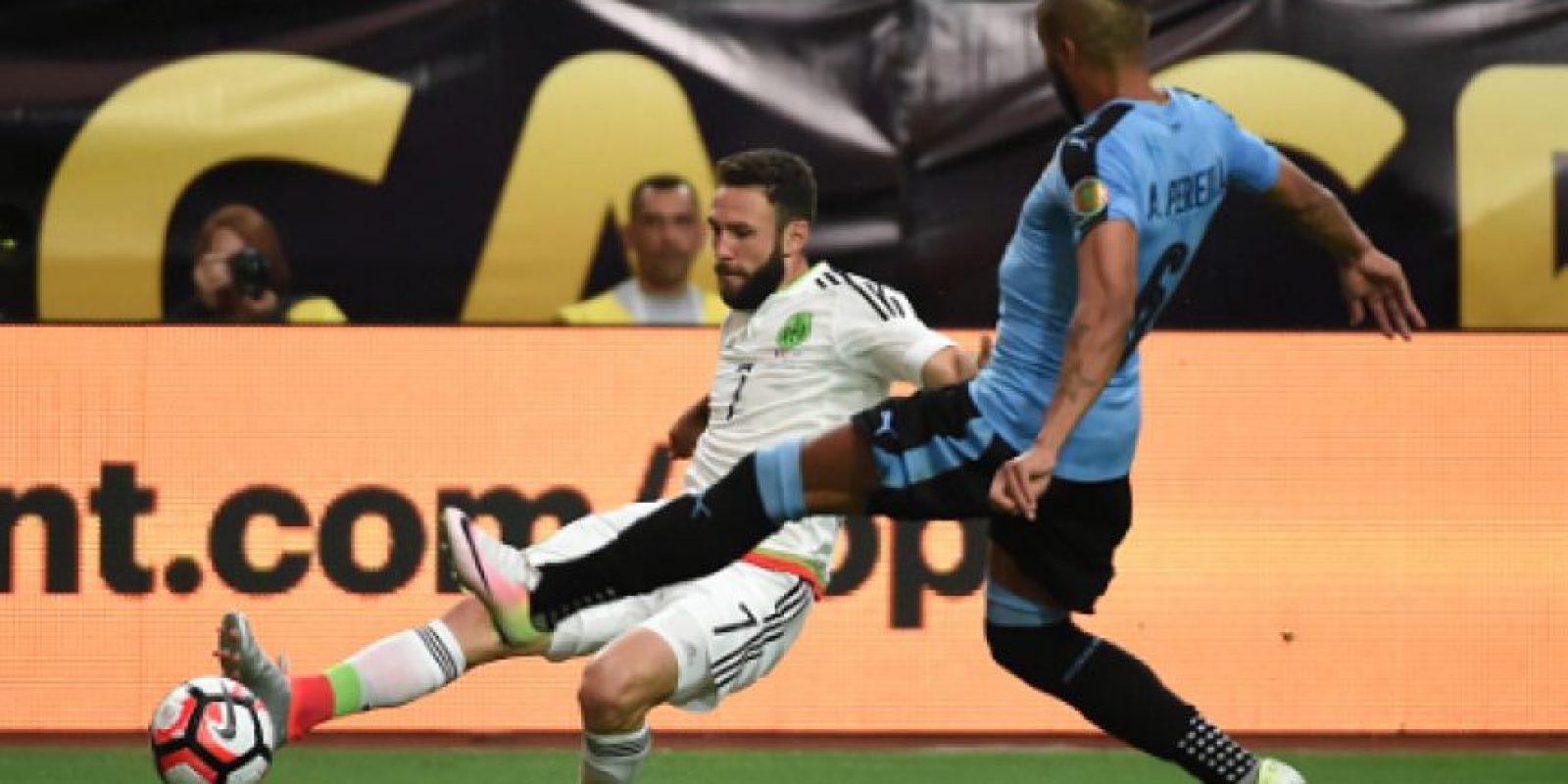 Miguel Layún manifestó confianza en el buen nivel de México en Copa América Centenario Foto:Getty Images