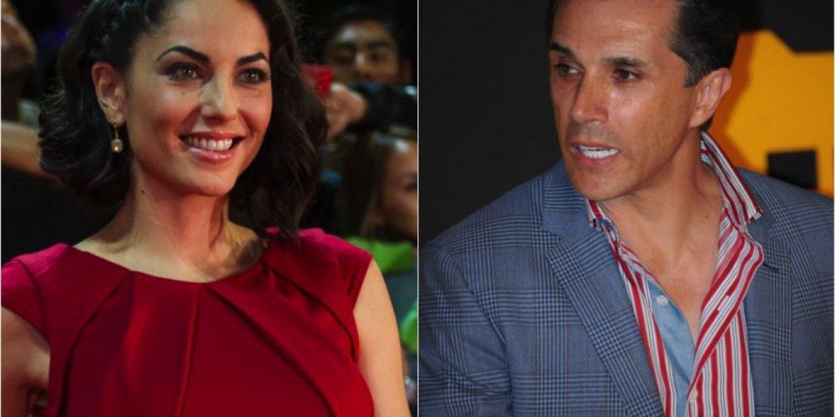 Así reaccionaron Sergio Mayer y Bárbara Mori ante el embarazo de la novia de su hijo