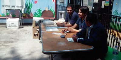 A las 15:00 horas el Instituto Nacional Electoral (INE) informó que en la Ciudad de México se instaló la totalidad de las casillas electorales. Foto:Wilfrido Meza/ Publimetro