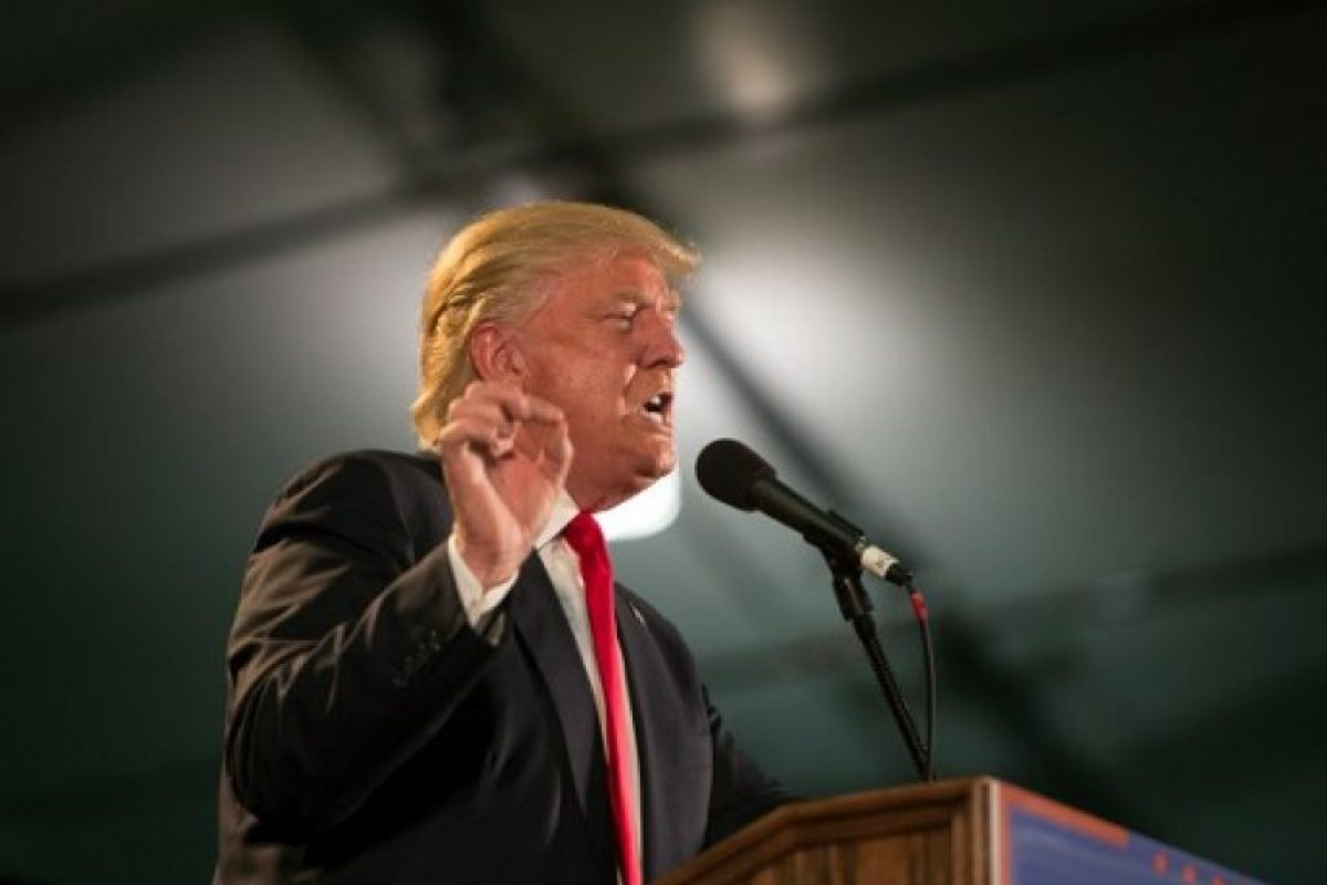 Donald Trump es el candidato virtual del Partido Republicano. Foto: AFP