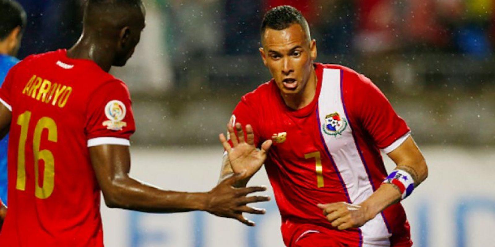 Con dos goles de Blas Pérez, Panamá tuvo un debut victorioso en la Copa América Centenario. Foto:Getty Images