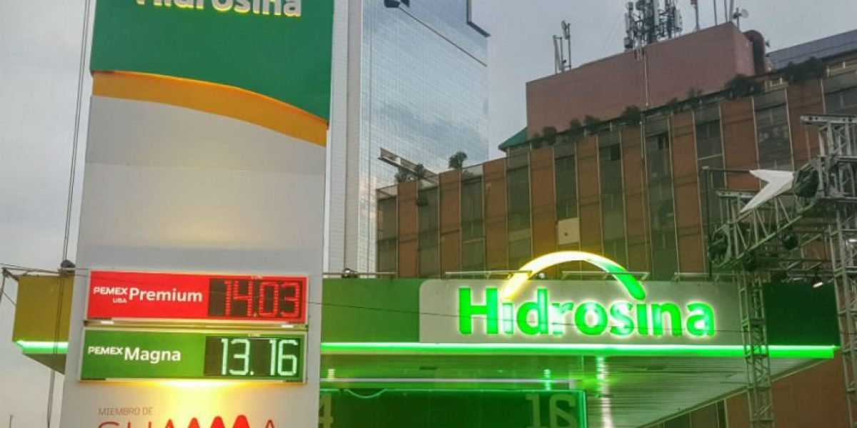 Hidrosina abre gasolinera sin marca Pemex en CDMX