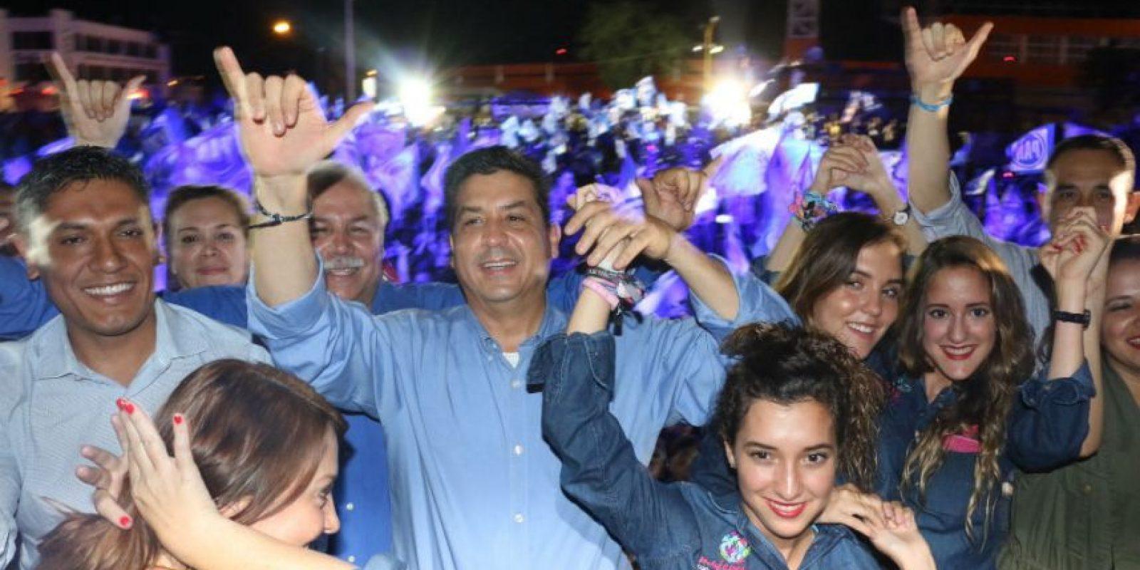 También por primera vez, habría alternancia en Tamaulipas si se confirma el triunfo del PAN con Javier García Cabeza de Vaca. Foto:Cuartoscuro
