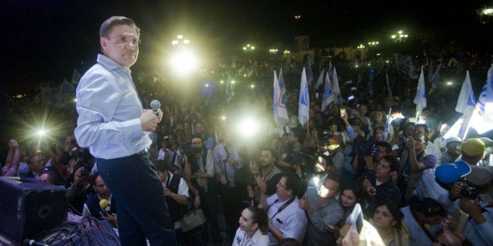 En coalición con el PRD, el candidato panista José Rosas Aispuro lleva la delantera en Durango. Foto:Cuartoscuro