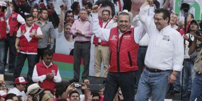 Marco Antonio Mena encabeza los porcentajes de votación a la gubernatura de Tlaxcala. Foto:Cuartoscuro