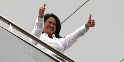 Keiko Fujimori fue la favorita en la primera vuelta de las elecciones. Foto:AP