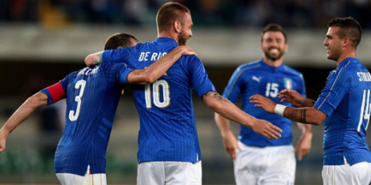 Italia cierra preparación para la Euro con triunfo sobre Finlandia