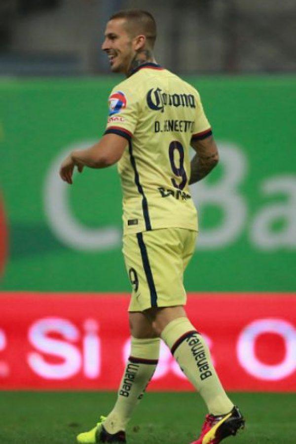 Darío Bendetto ya estaría en Argentina para jugar con Boca Juniors Foto:Getty Images