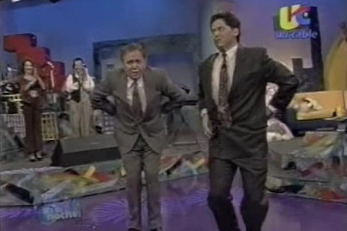 Paco Stanley y Mario Bezares Foto:Unicable