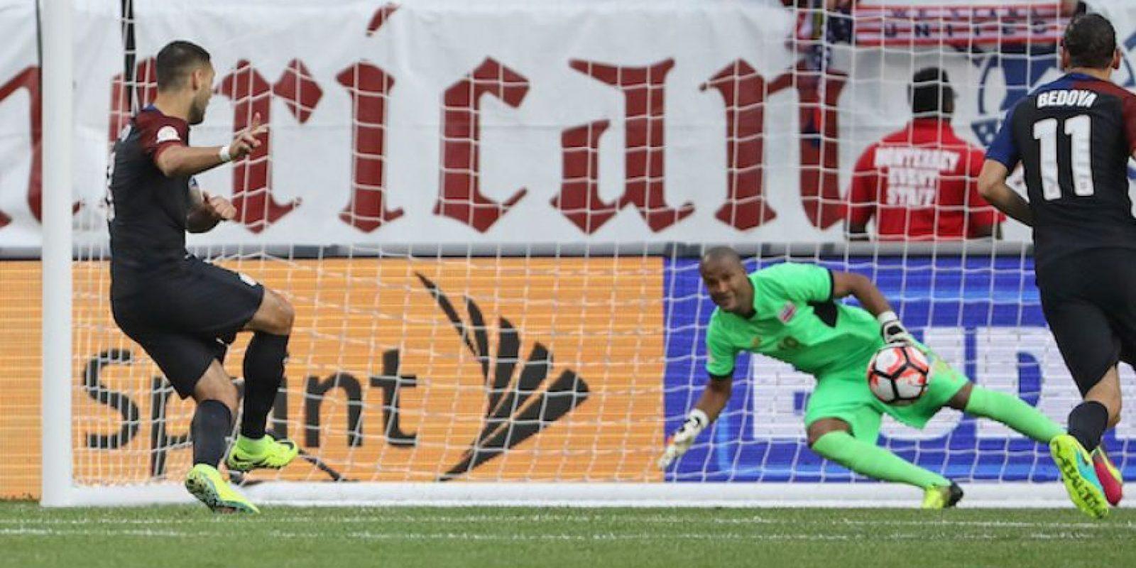 EU aprovecha ausencia de Navas para golear a Costa Rica Foto:Getty Images