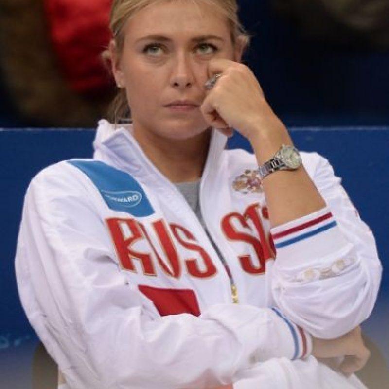 María Sharapova es suspendida dos años por dopaje Foto:Getty Images