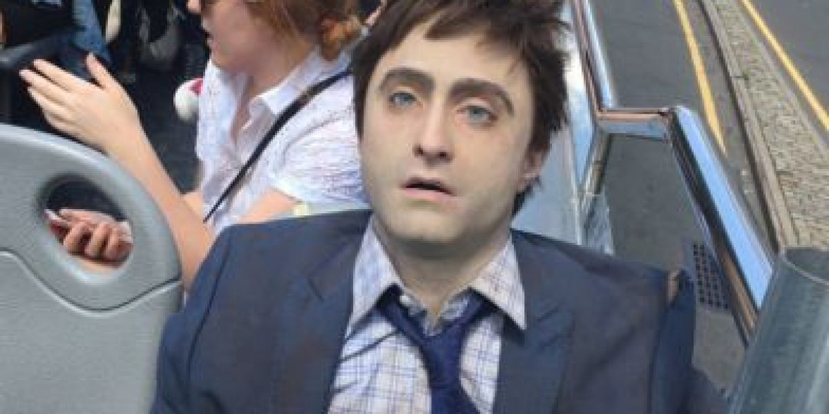 Daniel Radcliffe se pasea con un