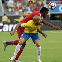 Brasil se aprovecha del débil Haití y consigue una goleada Foto:AP