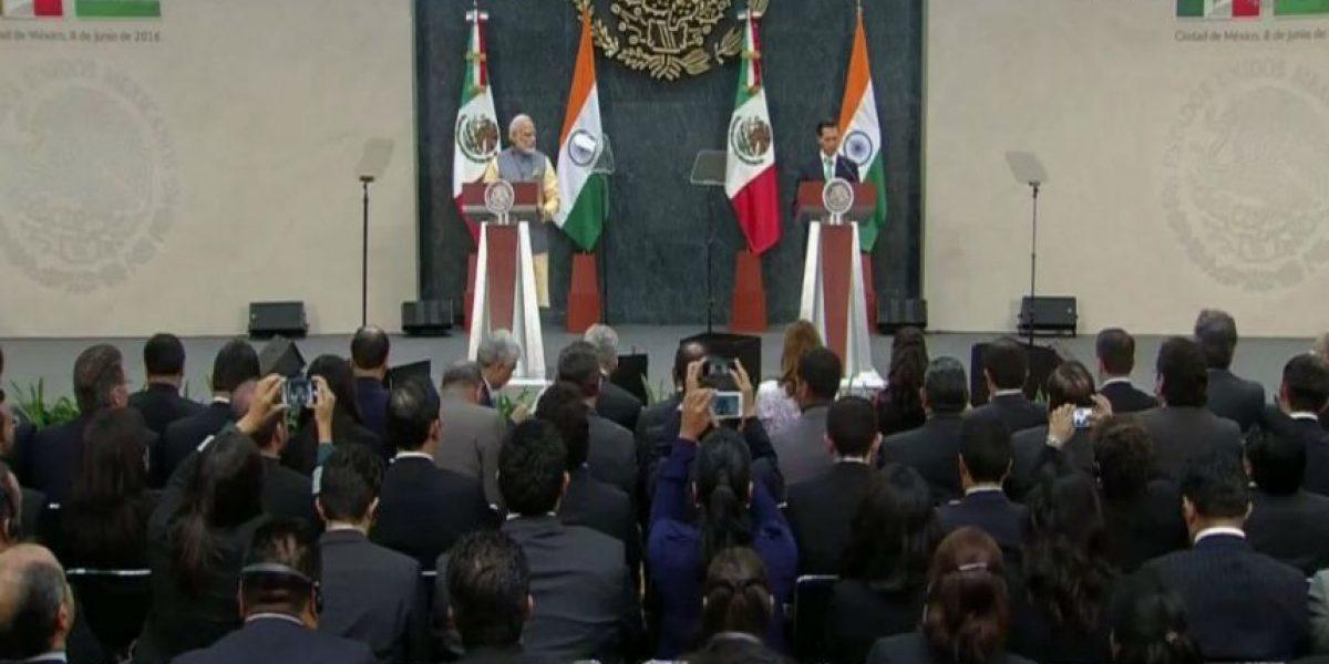 México e India acuerdan inversión en sector energético, aeroespacial y farma