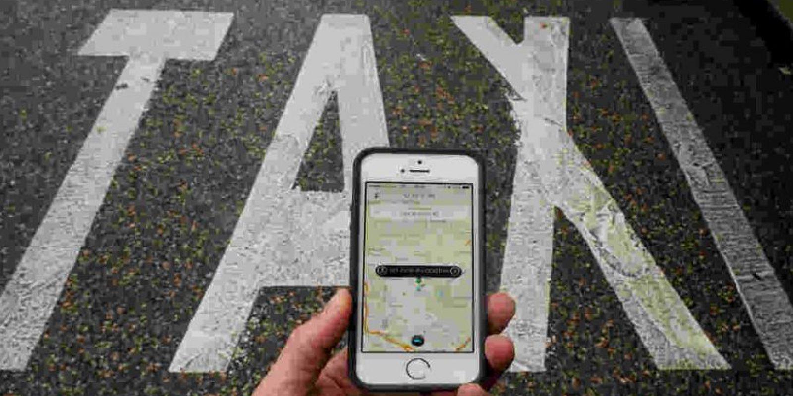 Uber se encuentra en casi todos los continentes. Foto:Getty Images