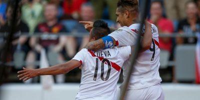 Mientras que Perú venció 1-0 al débil Haití Foto:Getty Images