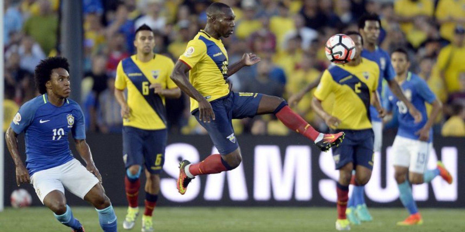 Los ecuatorianos empàtaron 0-0 con Brasil en la primera fecha Foto:Getty Images