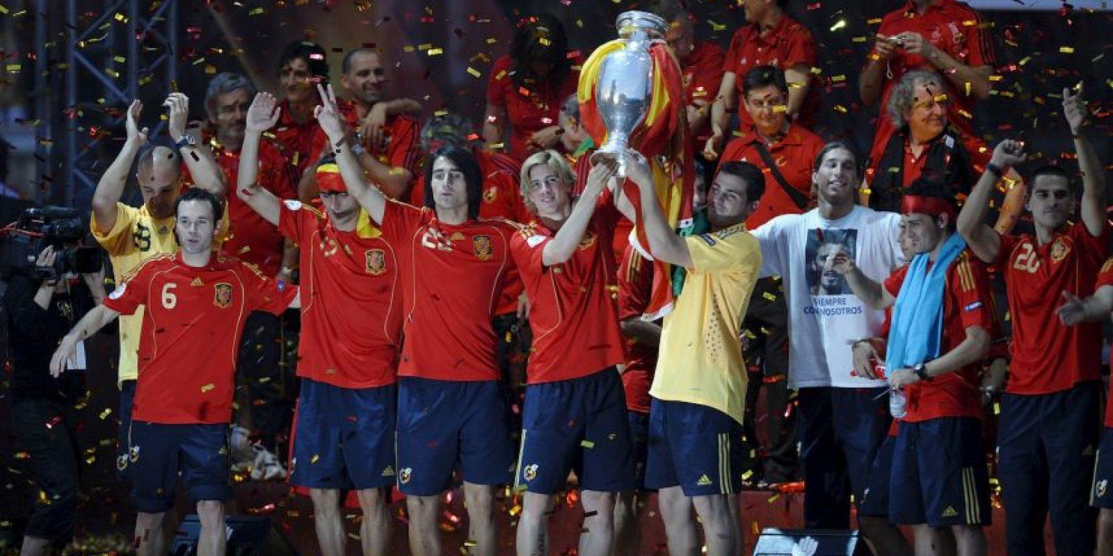 España, campeón de la Euro 2008 Foto:Getty Images