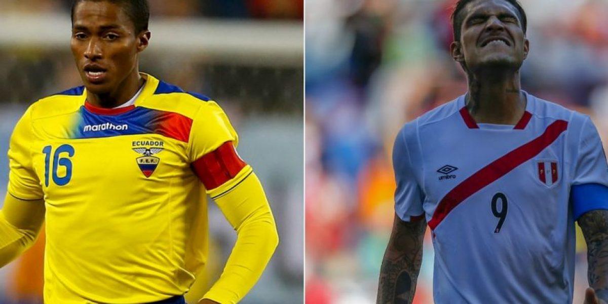 EN VIVO: Ecuador vs. Perú, Copa América Centenario