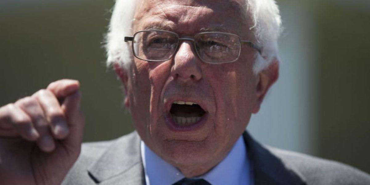 Sanders asegura que hará todo lo que pueda para que Trump no sea presidente