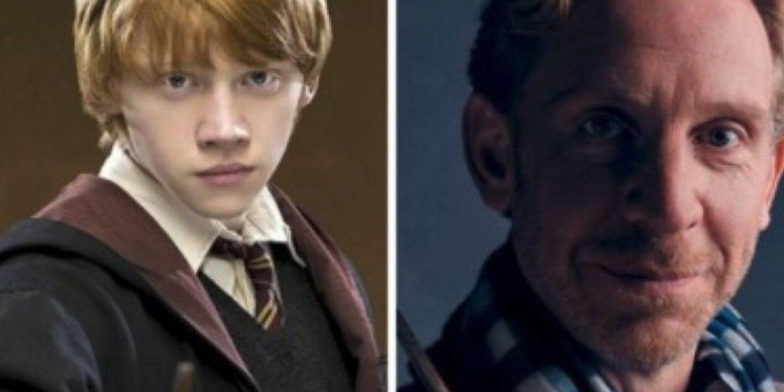 """Paul Thornley se meterá en la piel de """"Ron Weasley"""", Foto:Pottermore"""